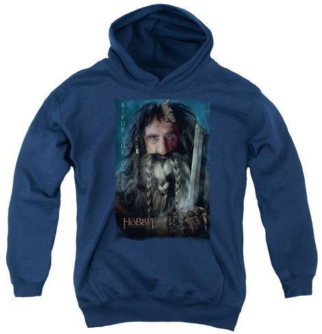 Youth Hoodie: The Hobbit - Bifur Pullover Hoodie