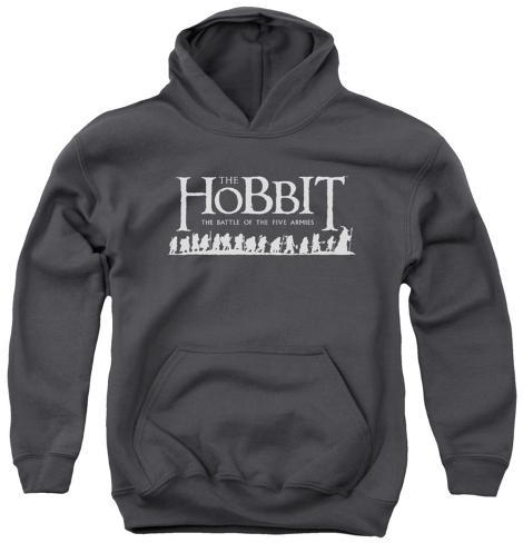 Youth Hoodie: The Hobbit - Walking Logo Pullover Hoodie