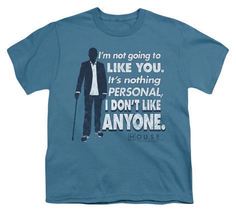 Youth: House - Don?t Like Anyone Kids T-Shirt