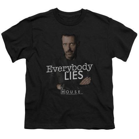 Youth: House - Everybody Lies Kids T-Shirt