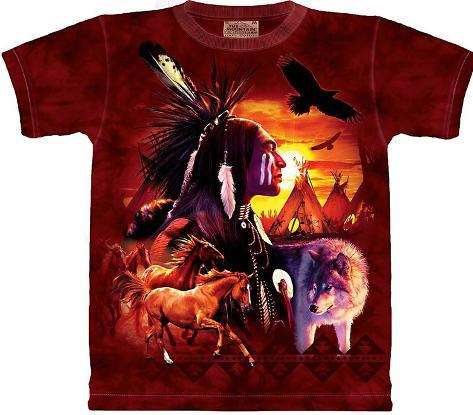Youth: Indian Collage T-Shirt