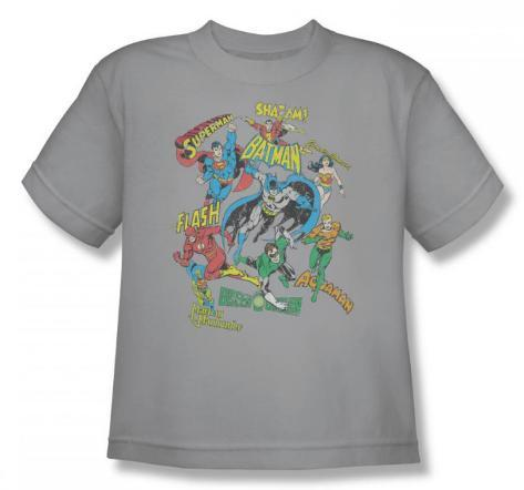 Youth: Justice League - Super Collage T-Shirt