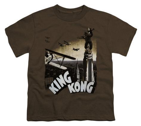Youth: King Kong - Final Battle Kids T-Shirt
