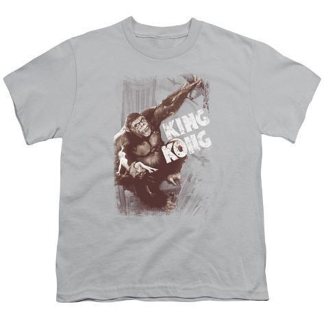 Youth: King Kong - Sepia Snag Kids T-Shirt