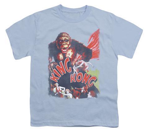 Youth: King Kong - You Better Run Kids T-Shirt