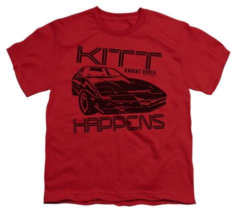Youth: Knight Rider - Kitt Happens Kids T-Shirt