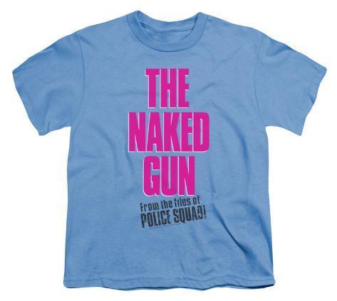 Youth: Naked Gun - Logo Kids T-Shirt