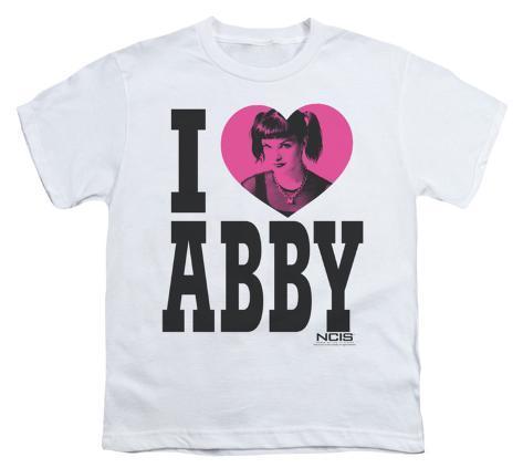Youth: NCIS-I Heart Abby Kids T-Shirt