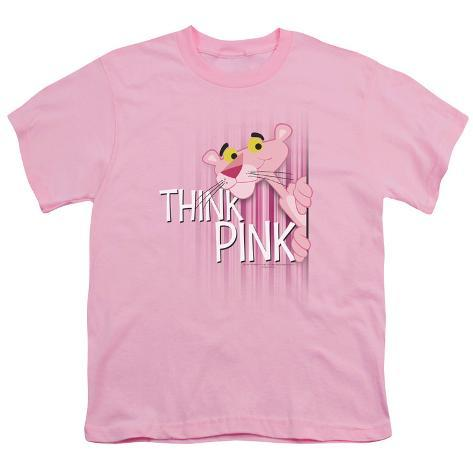 Youth: Pink Panther - Think Pink T-Shirt