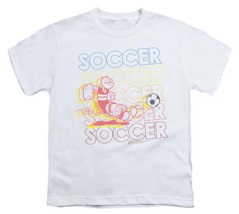 Youth: Popeye - Soccer Kids T-Shirt