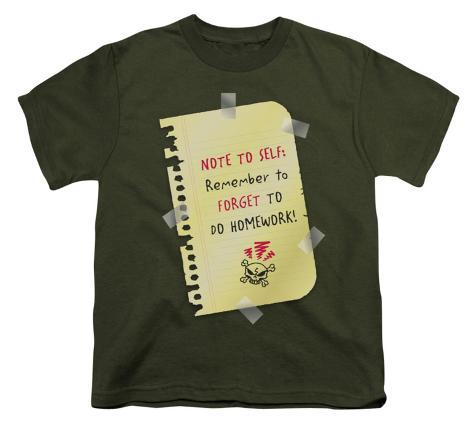 Youth: Remember to Forget Kids T-Shirt