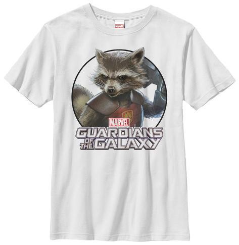 Youth: Rocket Racoon- Dangerous Animal Kids T-Shirt