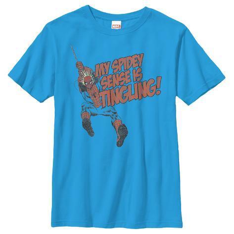 Youth: Spiderman- Tingling Senses Kids T-Shirt