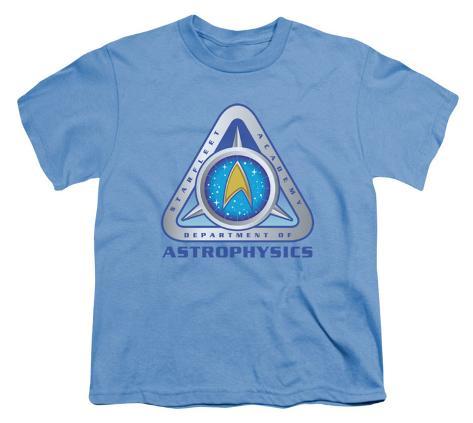 Youth: Star Trek-Astrophysics Kids T-Shirt