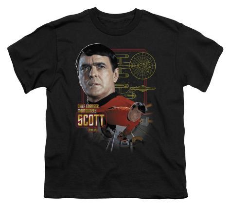 Youth: Star Trek-Chief Engineer Scott Kids T-Shirt