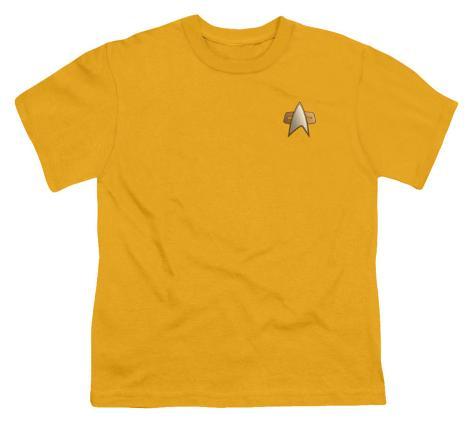 Youth: Star Trek-DS9 Engineering Emblem Kids T-Shirt