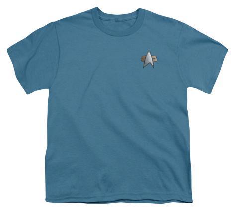 Youth: Star Trek-DS9 Science Emblem Kids T-Shirt