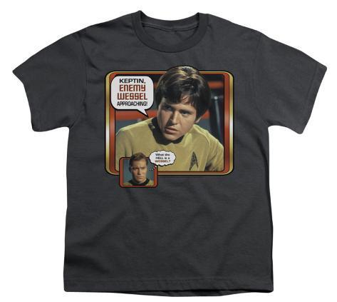 Youth: Star Trek - Enemy Vessel Kids T-Shirt