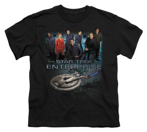 Youth: Star Trek - Enterprise Crew Kids T-Shirt