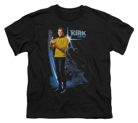 Youth: Star Trek - Galactic Kirk Kids T-Shirt