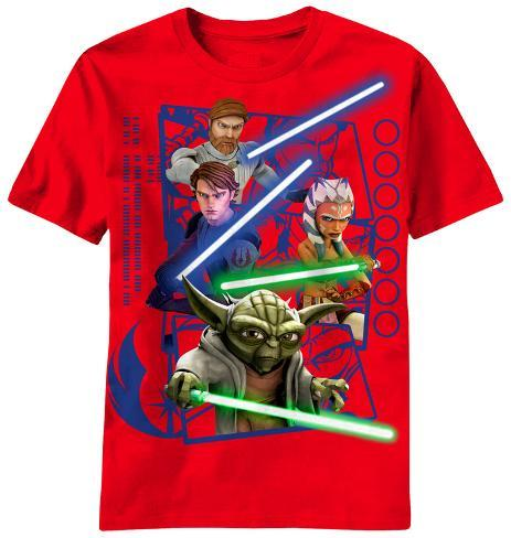 Youth: Star Wars Clone Wars - Framed Clones T-Shirt