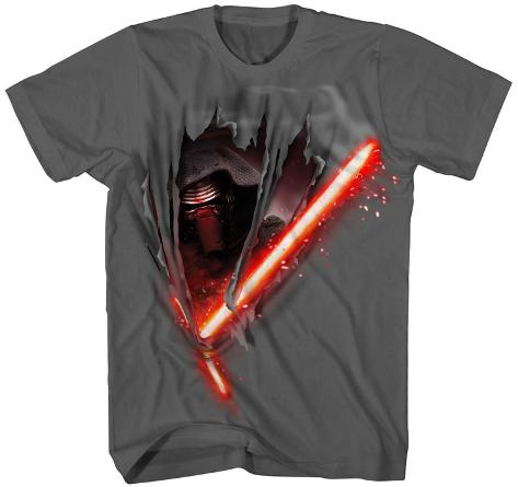 Youth: Star Wars The Force Awakens- Kylo Cut Camiseta infantil