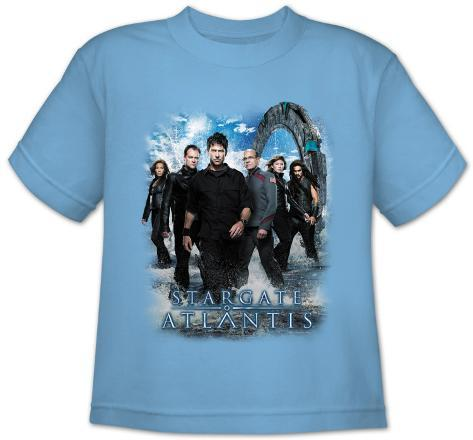 Youth: Stargate Atlantis-Atlantis Cast T-Shirt