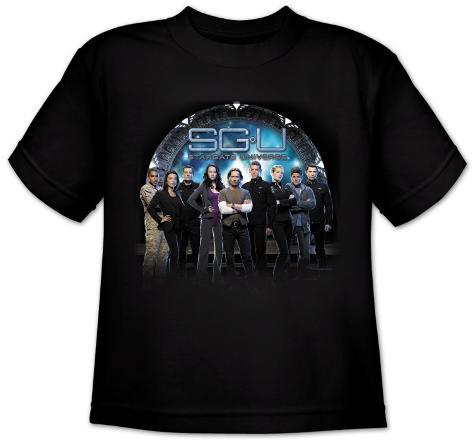 Youth: Stargate Universe-Destiny Gate T-Shirt