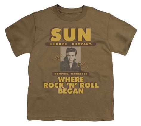 Youth: Sun Records-Sun Ad Kids T-Shirt