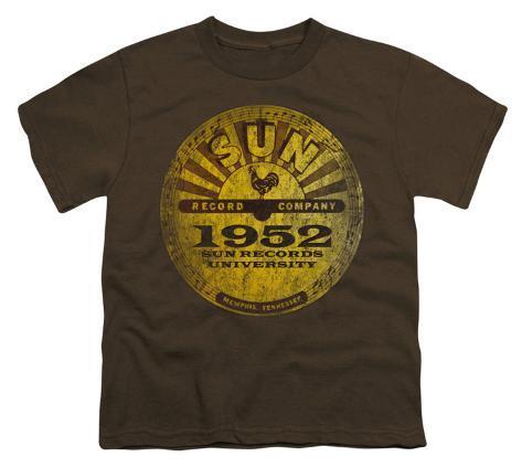 Youth: Sun Records-Sun University Distressed Kids T-Shirt