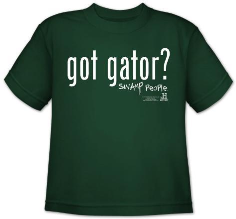 Youth: Swamp People-Got Gator T-Shirt