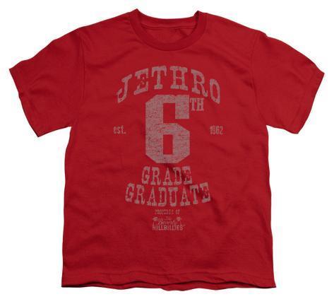 Youth: The Beverly Hillbillies - Mr Sixth Grade Graduate Kids T-Shirt