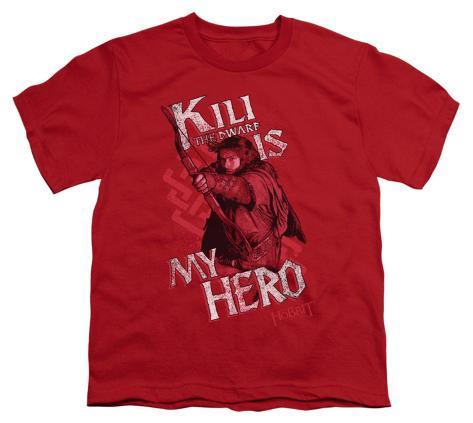 Youth: The Hobbit - Kili Is My Hero Kids T-Shirt
