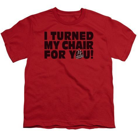 Youth: The Voice - Turned My Chair Kids T-Shirt