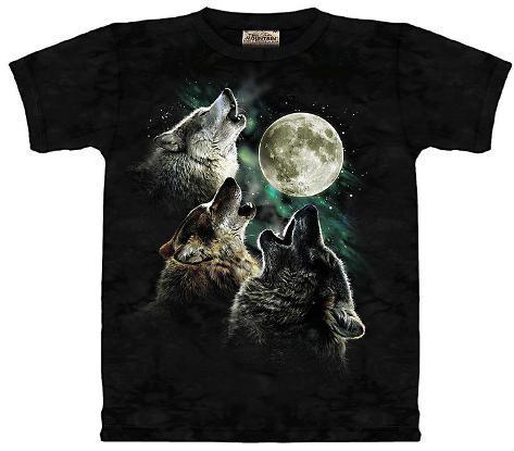 Youth: Three Wolf Moon Kids T-Shirt