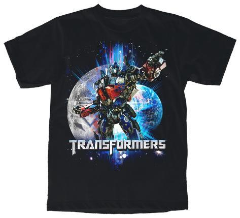 Youth: Transformers - Earth Moon T-Shirt
