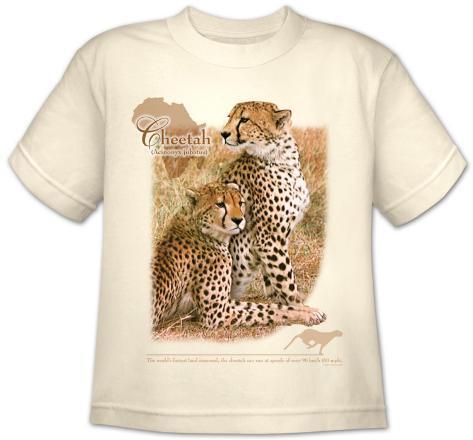 Youth: Wildlife-Cheetah T-Shirt