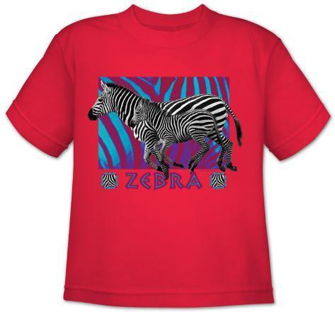 Youth: Wildlife-Zebra T-Shirt