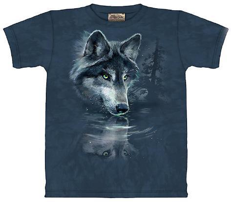 Youth: Wolf Reflections Kids T-Shirt