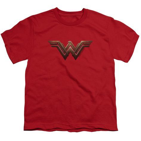 Youth: Wonder Woman Movie - Logo Kids T-Shirt