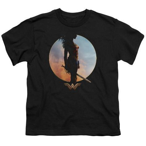 Youth: Wonder Woman Movie - Wisdom and Wonder Kids T-Shirt
