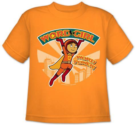 Youth: Word Girl - Logo Lifting T-Shirt