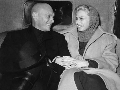Yul Brynner, Ingrid Bergman, Anastasia, 1956 Photographic Print