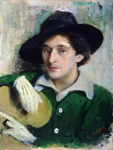 Portrait of Marc Chagall, C.1910 Giclee Print