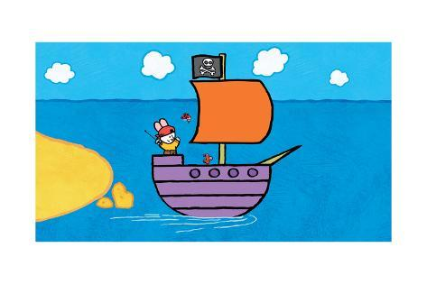 Didou - Louie and the Pirate Ship Poster