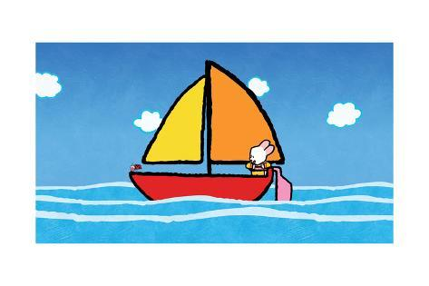Didou - Louie on the Sea Poster