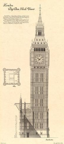 Big Ben Clock Tower Art Print