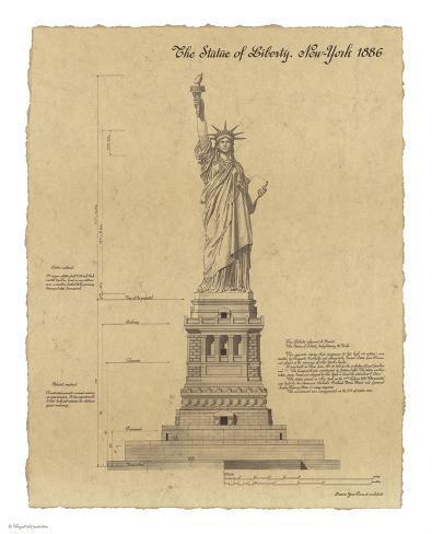 Statue of Liberty New York Art Print