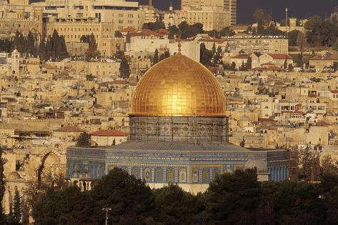 Dome of the Rock, Jerusalem, Israel Wall Mural