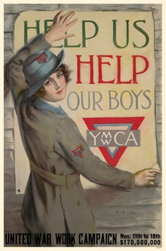 YWCA United War Work Campaign Masterprint